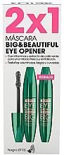 Parfums et Produits cosmétiques Set (mascara/2x12ml) (910 -Noir) - Astor Big & Beautiful Eye Opener