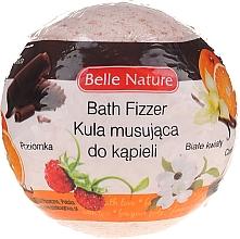 Parfums et Produits cosmétiques Bombe de bain effervescente, orange - Belle Nature