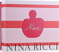 Parfums et Produits cosmétiques Nina Ricci Nina - Coffret (eau de toilette/50ml + lotion corporelle/75ml)