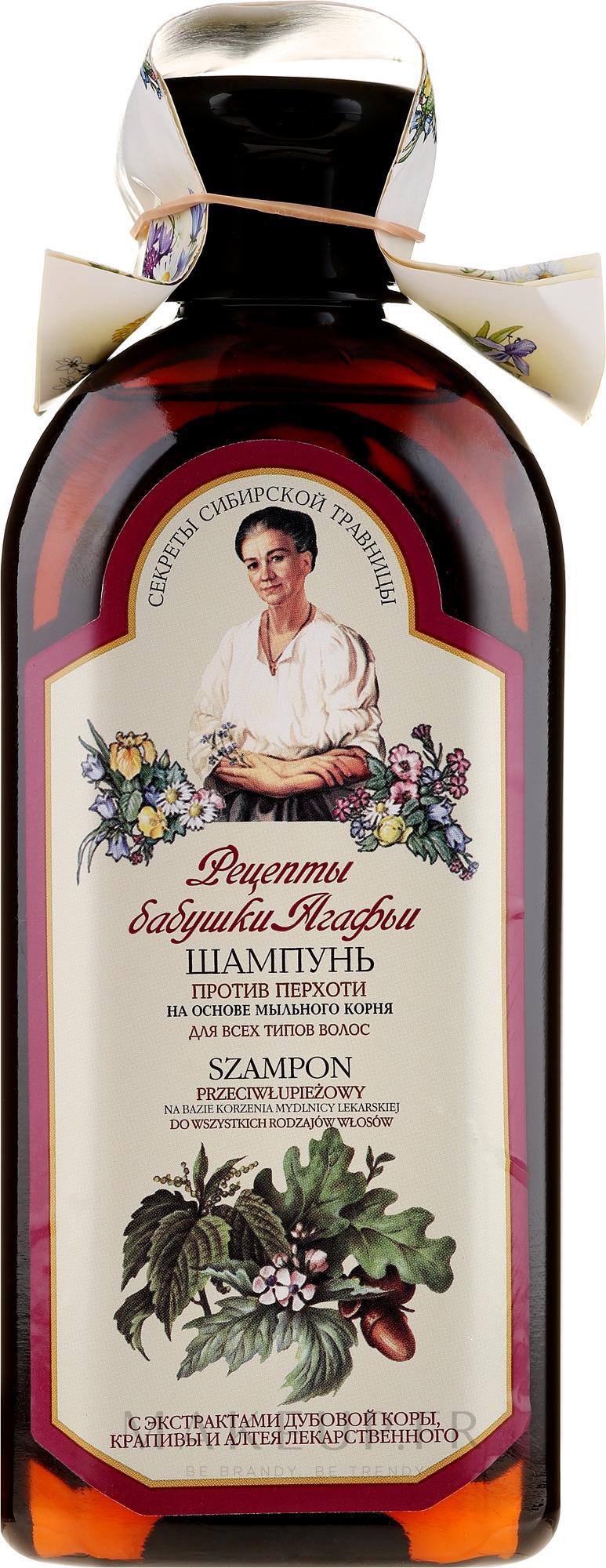 Shampooing à l'extrait d'ortie - Les recettes de babouchka Agafia — Photo 350 ml