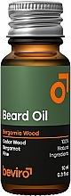 Parfums et Produits cosmétiques Huile pour barbe, Cèdre et Bergamote - Beviro Beard Oil Bergamia Wood
