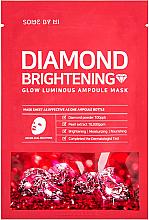 Parfums et Produits cosmétiques Masque tissu éclaircissant à la poudre de diamantes pour visage - Some By Mi Diamond Brightening Calming Glow Luminous Ampoule Mask