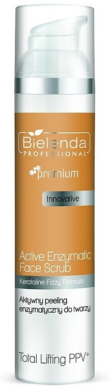 Exfoliant enzymatique pour visage - Bielenda Professional Premium Total Lifting PPV+ Enzymatic Active Face Peeling