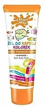 Parfums et Produits cosmétiques Gel douche colorant, Orangeade, couleur orange - Chlapu Chlap Bath & Shower Gel