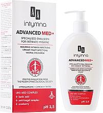 Parfums et Produits cosmétiques Émulsion d'hygiène intime à l'acide lactique et canneberges - AA Advanced Med+