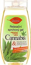 Parfums et Produits cosmétiques Gel douche à l'huile de chanvre - Bione Cosmetics Cannabis Relaxing Shower Gel