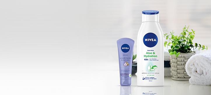 Remise jusqu'à -20% sur les produits promotionnels Nivea. Les prix sur le site sont indiqués avec des réductions