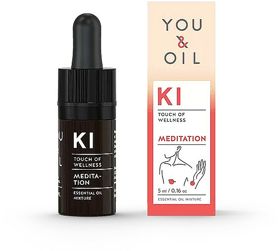 Mélange d'huiles essentielles - You & Oil KI-Meditation Bites Touch Of Welness Essential Oil
