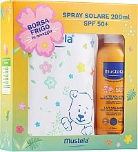 Parfums et Produits cosmétiques Mustela Bebe Solare - Set (lait solaire/200ml + trousse)