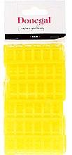 Parfums et Produits cosmétiques Bigoudis 9218, 20 mm, jaunes, 12 pcs - Donegal Hair Curlers