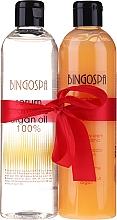 Parfums et Produits cosmétiques BingoSpa Argan Madness - Set (shm/sérum/300ml + crème de douche/300ml)