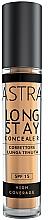 Parfums et Produits cosmétiques Correcteur crémeux pour visage - Astra Make-Up Long Stay Concealer SPF15