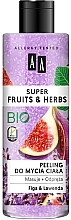 Parfums et Produits cosmétiques Gommage bio pour corps, Figue et Lavande - AA Super Fruits & Herbs