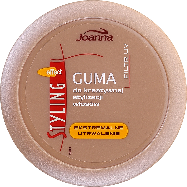 Gomme coiffante fixation extrême - Joanna Styling Effect Creative Hair Styling Gum Extreme Fixation