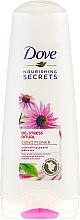 Parfums et Produits cosmétiques Après-shampooing à l'échinacée et au thé blanc - Dove Nourishing Secrets De-Stress Ritual