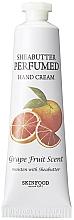 Parfums et Produits cosmétiques Crème au beurre de karité pour mains, Pamplemousse - Skinfood Shea Butter Perfumed Hand Cream Grapefruit Scent