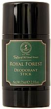 Parfums et Produits cosmétiques Taylor of Old Bond Street Royal Forest - Déodorant stick sans aluminium