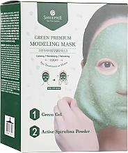 Parfums et Produits cosmétiques Masque peel-off à la réglisse pour visage - Shangpree Green Premium Modeling Mask