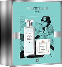Parfums et Produits cosmétiques Allvernum Lilly & Jasmine Gift Set - Set (eau de parfum/50ml + bougie parfumée/100g)