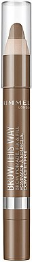Pommade à sourcils - Rimmel Brow This Way Brow Pomade