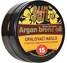 Parfums et Produits cosmétiques Huile de bronzage - Vivaco Sun Argan Bronz Oil SPF 15