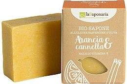 """Parfums et Produits cosmétiques Savon naturel """"Orange et canelle"""" - La Saponaria Orange & Cinnamon Soap"""