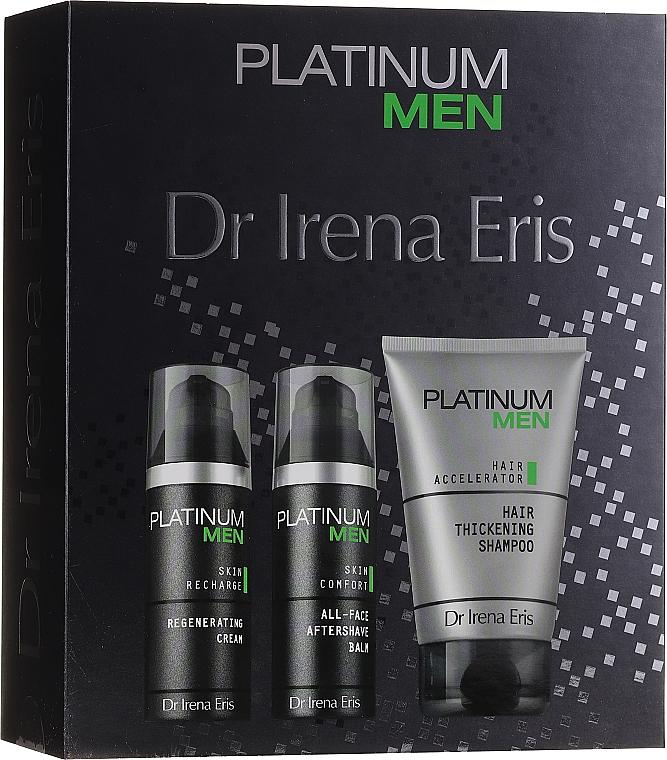 Coffret cadeau - Dr. Irena Eris Platinum Men (shm/125ml + ash/balm/50ml + cr/50ml) — Photo N1