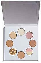 Parfums et Produits cosmétiques Palette d'enlumineurs - Makeup Revolution I Heart Makeup Highlighter Wardrobe