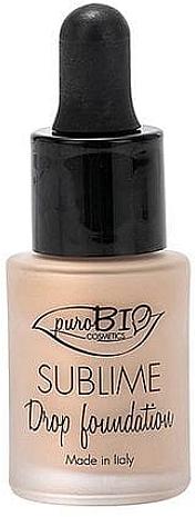 Fond de teint liquide - PuroBio Cosmetics Sublime Drop Foundation
