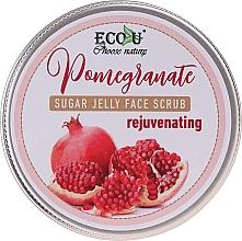 Parfums et Produits cosmétiques Gommage sucré à l'extrait de grenade pour visage - Eco U Sugar Jelly Face Scrub