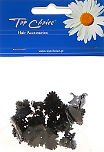 Parfums et Produits cosmétiques Pinces à cheveux, 25204, noir - Top Choice