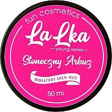 Parfums et Produits cosmétiques Crème-mousse scintillante pour corps, Pastèque ensoleillée - Lalka