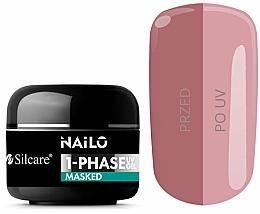 Parfums et Produits cosmétiques Gel pour ongles - Silcare Nailo 1-Phase Gel UV Masked