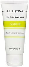 Parfums et Produits cosmétiques Masque à l'extrait de pomme pour visage - Christina Sea Herbal Beauty Mask Green Apple
