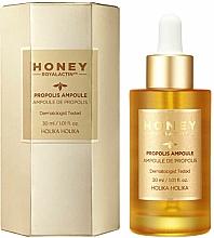 Parfums et Produits cosmétiques Ampoule à la propolis pour visage - Holika Holika Honey Royal Lactin Propolis Ampoule Special Edition