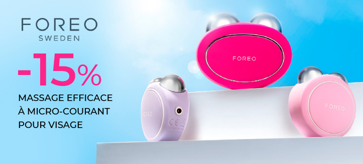 Promotion de Foreo