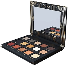Parfums et Produits cosmétiques Palette de fards à paupières - Astra Make-up Golden Era Eyeshadow Palette