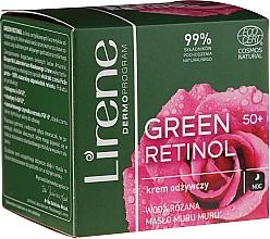 Crème de nuit à l'eau de rose - Lirene Green Retinol Night Cream 50+ — Photo N1