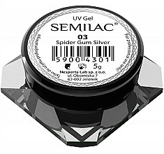 Parfums et Produits cosmétiques Gel UV pour ongles - Semilac Spider Gum UV Gel