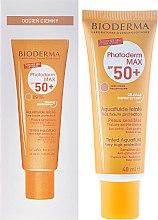 Parfums et Produits cosmétiques Fluide solaire teinté SPF 50+ - Bioderma Photoderm Max Spf 50+ Ultra-Fluide Teinte