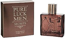 Parfums et Produits cosmétiques Linn Young Pure Luck Men Secrets - Eau de Toilette