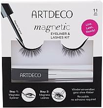 Parfums et Produits cosmétiques Set (eyeliner/5ml + faux cils) - Artdeco Magnetic Eyeliner & Lashes Kit 11 Daily Dress