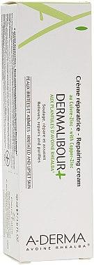 Crème réparatrice aux plantules d'avoine pour visage et corps - A-Derma Dermalibour+ Creme — Photo N1