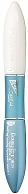 Mascara waterproof - L'Oreal Paris Double Extend Waterproof Black — Photo N1