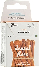 Parfums et Produits cosmétiques Fil dentaire en soie, Cannelle - The Humble Co. Dental Floss Cinnamon