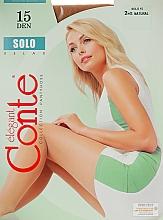 Parfums et Produits cosmétiques Collant pour femme, Solo, 15 Den, natural - Conte