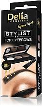 Parfums et Produits cosmétiques Palette sourcils - Delia Cosmetics Eyebrow Expert Stylist Set