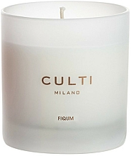 Parfums et Produits cosmétiques Bougie parfumée - Culti Milano Fiqum Candle