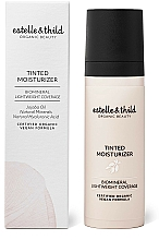 Parfums et Produits cosmétiques Fond de teint hydratant à l'acide hyaluronique naturel - Estelle & Thild Tinted Moisturizer