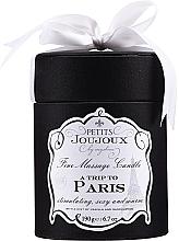 Parfums et Produits cosmétiques Bougie de massage Un voyage à Paris - Petits Joujoux A Trip To Paris Massage Candle